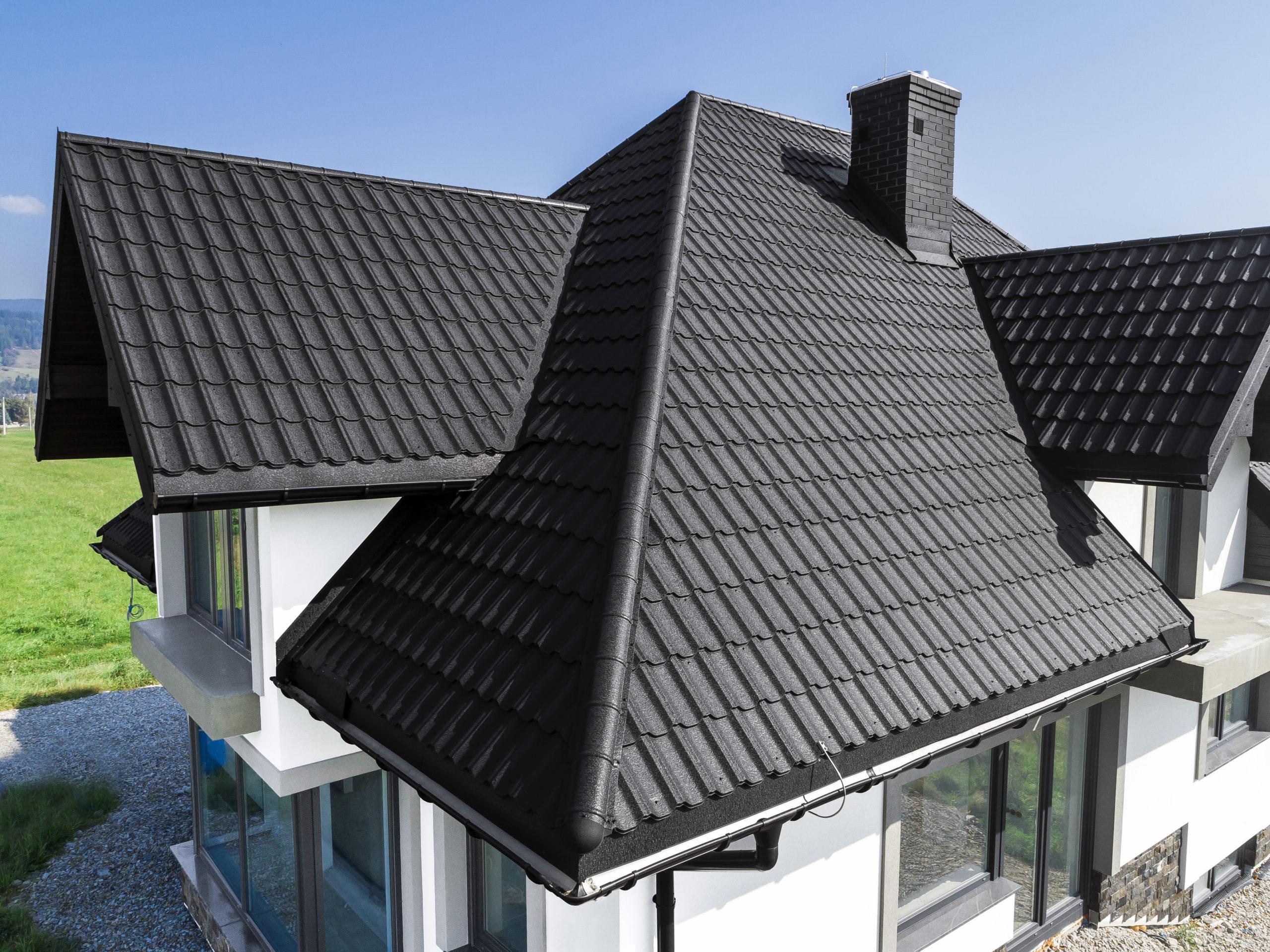 Металлочерепица на крышу