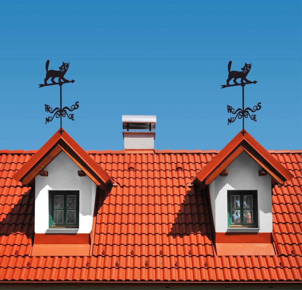 Для чего нужен флюгер на крыше
